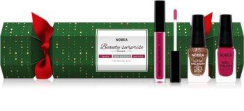 NOBEA Beauty Surprise Christmas Cracker Violet kozmetika szett hölgyeknek