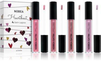 NOBEA Heartbeat lipgloss set