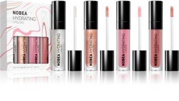 NOBEA Day-to-Day ensemble de brillants à lèvres hydratants 4 x 7 ml