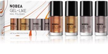 NOBEA Metal kit med nagellack