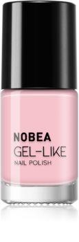NOBEA Day-to-Day лак за нокти с гел ефект