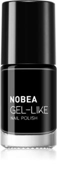 NOBEA Day-to-Day lak na nehty s gelovým efektem I.