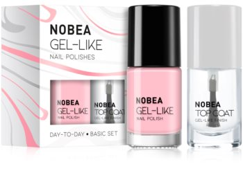 NOBEA Day-to-Day kit de vernis à ongles Basic set