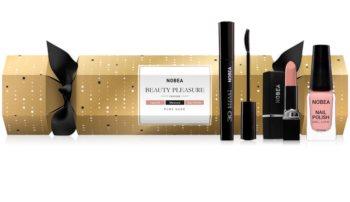 NOBEA Beauty Pleasure Christmas Cracker Nude kosmetická sada pro ženy