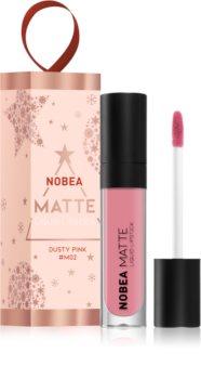 NOBEA Festive mattító folyékony rúzs