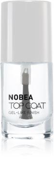 NOBEA Day-to-Day vrchný ochranný lak na nechty s leskom