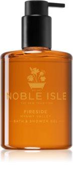 Noble Isle Fireside sprchový a koupelový gel