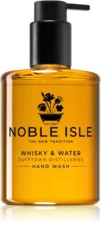 Noble Isle Whisky & Water sapone liquido per le mani