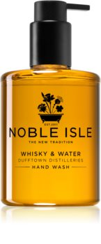 Noble Isle Whisky & Water savon liquide mains