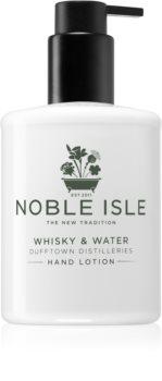 Noble Isle Whisky & Water ápoló kézkrém
