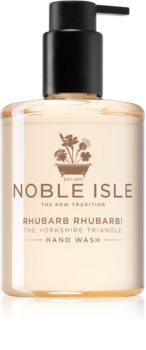 Noble Isle Rhubarb Rhubarb! savon liquide mains