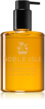 Noble Isle Whisky & Water gel de dus si baie