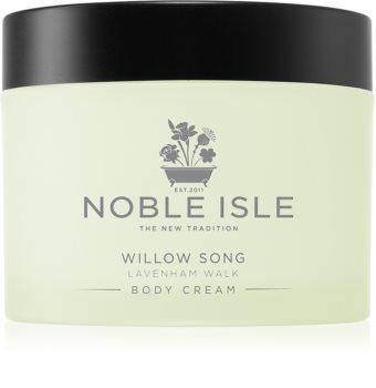 Noble Isle Willow Song tělový krém s bambuckým máslem