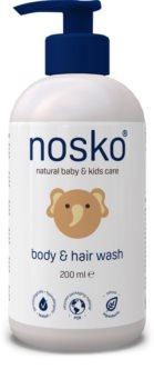 Nosko Baby Body & Hair Wash reinigingsgel voor lichaam en haar voor Kinderen