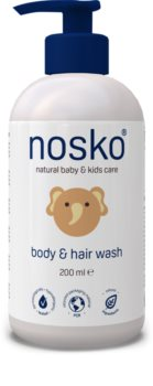 Nosko Baby Body & Hair Wash миещ гел за тяло и коса за деца