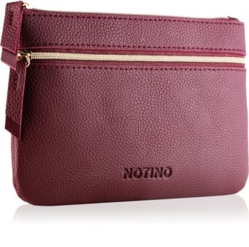 Notino Glamour Collection Flat Double Pouch trousse de toilette à deux compartiments