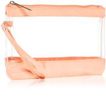 Notino Basic прозрачна козметична чантичка на път
