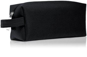Notino Basic Men's cosmetic bag, small Black