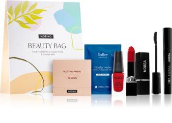 Notino Beauty Bag kozmetikai szett az érzéki megjelenésért Red árnyalat