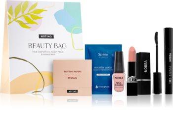 Notino Beauty Bag козметичен комплект за чувствен вид  Nude цвят