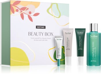 Saffee Beauty Box козметичен комплект за чиста и спокойна кожа