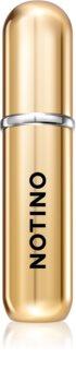Notino Travel plniteľný rozprašovač parfémov Gold