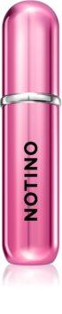 Notino Travel plnitelný rozprašovač parfémů Hot pink