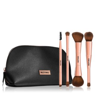 Notino Luxe Collection Ecsetkészlet táskával I.