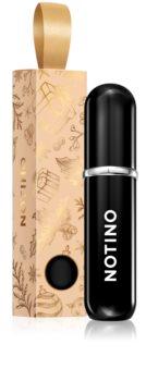 Notino Travel szórófejes parfüm utántöltő palack limitált kiadás Black