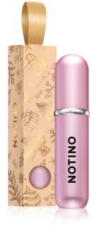 Notino Travel nachfüllbarer Flakon mit Zerstäuber limitierte Edition Pink