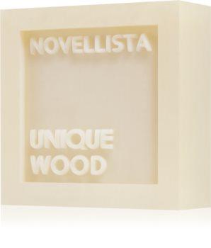 NOVELLISTA Unique Wood luksusowe mydło w kostce do twarzy, rąk i ciała unisex