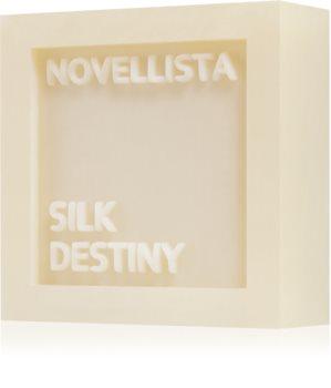 NOVELLISTA Silk Destiny luksusowe mydło w kostce do twarzy, rąk i ciała dla kobiet