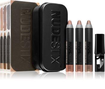 Nudestix Kit Nude Metallic Eye Mini dekoratív kozmetika szett (szemre)