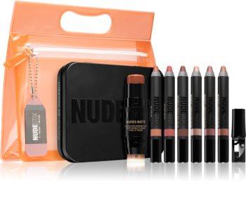 Nudestix Kit Nude Beach комплект декоративна козметика  (за естествен вид)