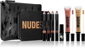 Nudestix Kit Smokey Nude zestaw kosmetyków dekoracyjnych
