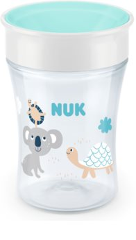 NUK Magic Cup Kop met dop 8m+ Green