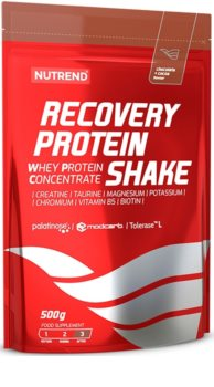 Nutrend RECOVERY PROTEIN SHAKE pro podporu regenerace  chocolate cocoa