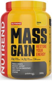 Nutrend MASS GAIN podpora tvorby svalové hmoty  banana