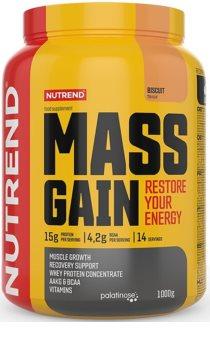 Nutrend MASS GAIN podpora tvorby svalové hmoty  biscuit