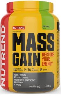 Nutrend MASS GAIN podpora tvorby svalové hmoty  pistachio