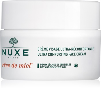Nuxe Rêve de Miel crème de jour nourrissante et hydratante pour peaux sèches