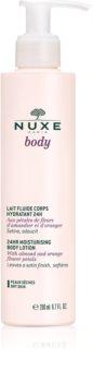 Nuxe Body leite corporal hidratante para pele seca