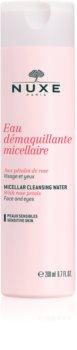 Nuxe Cleansers and Make-up Removers micelárna čistiaca voda pre citlivú pleť a oči