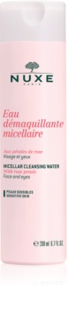 Nuxe Cleansers and Make-up Removers мицеларна почистваща вода за чувствителна кожа на лицето и околоочен контур