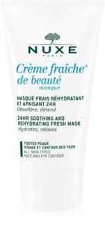 Nuxe Crème Fraîche de Beauté успокояваща и хидратираща маска за всички типове кожа на лицето