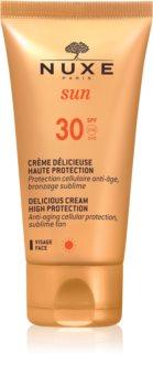 Nuxe Sun krema za sunčanje za lice SPF 30