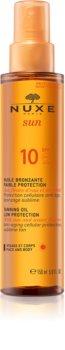 Nuxe Sun Sonnenöl für Körper und Gesicht LSF 10
