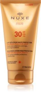 Nuxe Sun Sonnenlotion für Gesicht und Körper SPF 30
