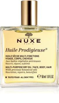 Nuxe Huile Prodigieuse Monikäyttöinen Kuivaöljy Kasvoille, Vartalolle ja Hiuksille