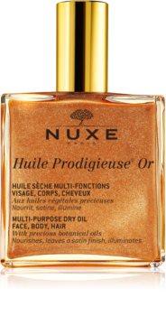 Nuxe Huile Prodigieuse Or Multifunktions tørolie med glimmer til ansigt, krop og hår
